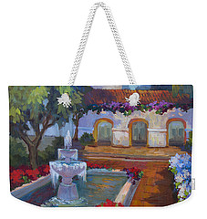 Mission Via Dolorosa Weekender Tote Bag by Diane McClary