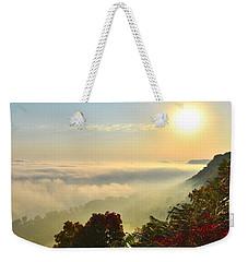 Mississippi River Fog Weekender Tote Bag