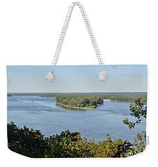 Mississippi River Overlook Weekender Tote Bag