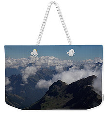 Mist From The Schilthorn Weekender Tote Bag