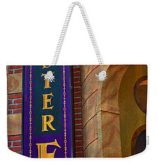 Mister E Hotel - Vacancy Sign Weekender Tote Bag
