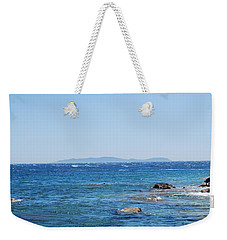 Weekender Tote Bag featuring the photograph Mistral.force 6 by George Katechis