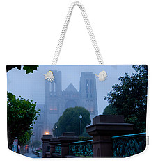 Misty Blues Weekender Tote Bag