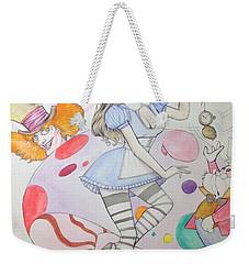 Misty Kay In Wonderland Weekender Tote Bag by Jimmy Adams