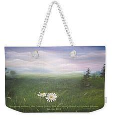 Misty Meadow Isaiah  Weekender Tote Bag