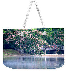 Misty Mimosa Reflections Weekender Tote Bag