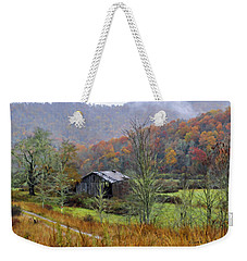 Misty Morn Weekender Tote Bag by Kenny Francis