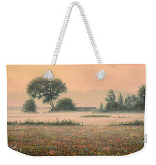 Misty Morning Weekender Tote Bag by James W Johnson