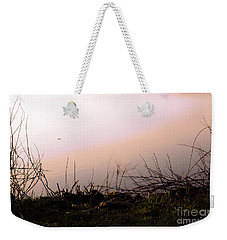 Weekender Tote Bag featuring the photograph Misty Morning by Robyn King