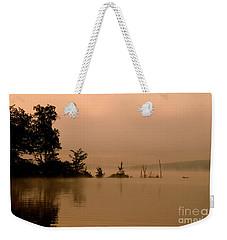 Misty Morning Solitude  Weekender Tote Bag