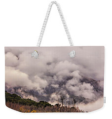 Misty Mountains Weekender Tote Bag by Wallaroo Images