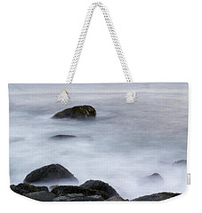 Misty Rocks Weekender Tote Bag