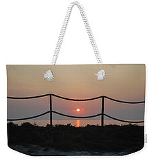 Misty Sunset 1 Weekender Tote Bag
