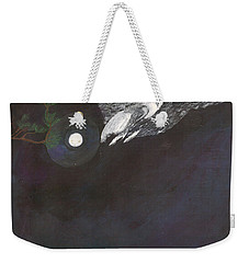 Weekender Tote Bag featuring the painting Misty Twinight by Kim Pate