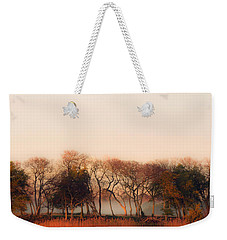 Misty Winter's Morning Weekender Tote Bag