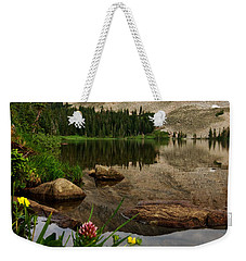 Mitchell Lake Reflections Weekender Tote Bag