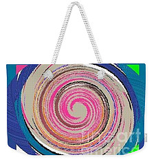 Weekender Tote Bag featuring the painting Mixed by Catherine Lott