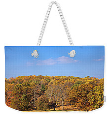 Mixed Fall Weekender Tote Bag