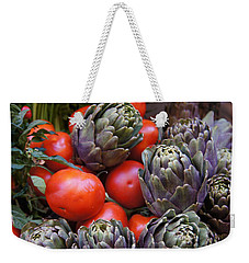 Articholes And Tomatoes Weekender Tote Bag