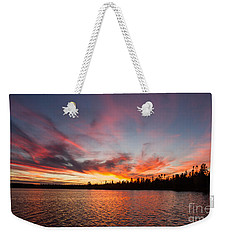 Mn Sunset Symphony Weekender Tote Bag