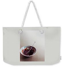 Mocha Caramel Sauce Weekender Tote Bag