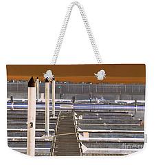 Mocha Dock 2 Weekender Tote Bag