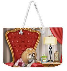 Mocha S Living Room Weekender Tote Bag