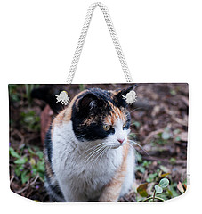 Mochi In The Garden Weekender Tote Bag