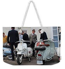 Mod Meeting Weekender Tote Bag