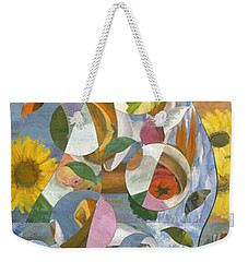 modern abstract art - Garden Variety Weekender Tote Bag