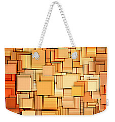 Modern Abstract Xvi Weekender Tote Bag by Lourry Legarde