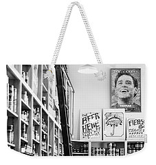Modica Market - Black And White Weekender Tote Bag by Shelby  Young