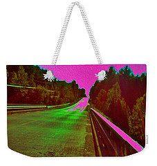 Moffit Bridge And Maple Ridge Rd. Weekender Tote Bag by Daniel Thompson
