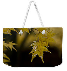Moist Yellow Weekender Tote Bag