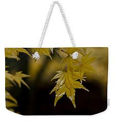 Moist Yellow Weekender Tote Bag