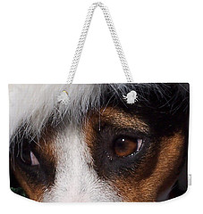 Mojo's New Holiday Coat Weekender Tote Bag