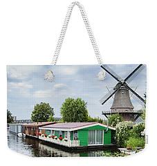 Molen Van Sloten And River Weekender Tote Bag