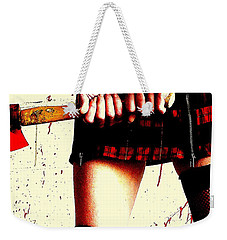 Molly's Hatchet Weekender Tote Bag