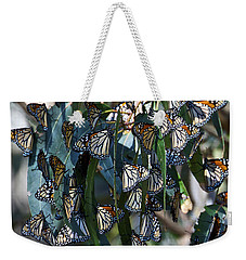 Monarch Butterflies Natural Bridges Weekender Tote Bag