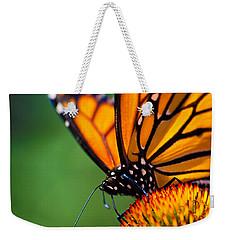 Monarch Butterfly Headshot Weekender Tote Bag