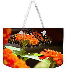 Monarch Butterfly II Weekender Tote Bag by Patrice Zinck