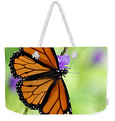 Monarch Butterfly In Spring Weekender Tote Bag