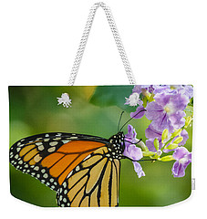 Monarch Butterfly Weekender Tote Bag by Jane Luxton