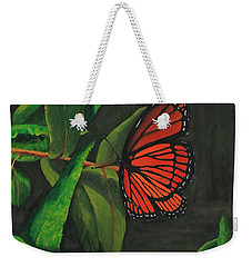 Viceroy Butterfly Oil Painting Weekender Tote Bag