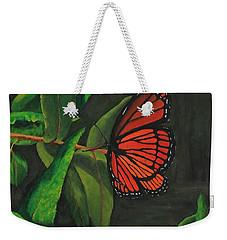 Viceroy Butterfly Oil Painting Weekender Tote Bag