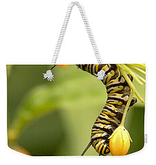 Monarch Caterpillar Weekender Tote Bag