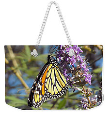 Monarch On Vitex Weekender Tote Bag