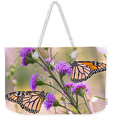 Monarch Pair Weekender Tote Bag