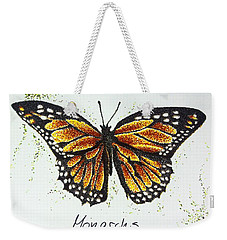 Monarchs - Butterfly Weekender Tote Bag by Katharina Filus