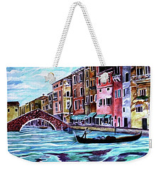 Monday In Venice Weekender Tote Bag